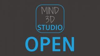MIND 3D STUDIO サイト公開しました!