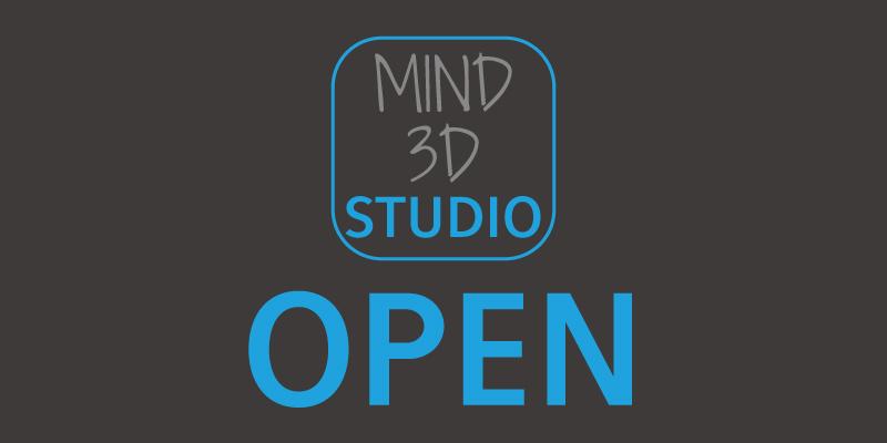 MIND 3D STUDIO サイト公開